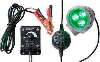Brunst Åtebelysning, Power LED