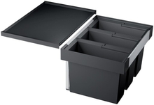 Blanco Flexon II 60 sopsortering, 3 hinkar, montering i låda
