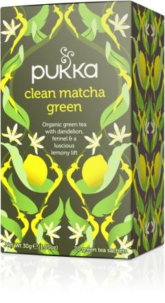 PUKKA - Clean Matcha Green