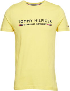 Tommy Hilfiger Essen T-shirt Gul Tommy Hilfiger