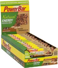 PowerBar Natural Energy Cereal Bar Box 24x40g Cacao-Crunch 2020 Näringstillskott & Paket