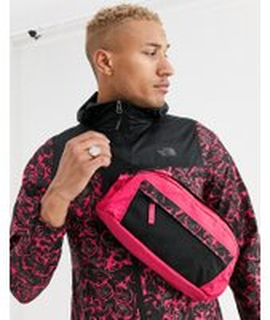 The North Face 94 Rage 'Em bum bag - S in rose red/black - Red