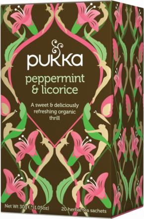 PUKKA - Peppermint & Licorice Tea