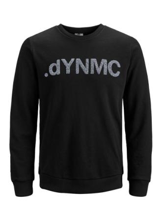 JACK & JONES Crew Neck Sweatshirt Men Black