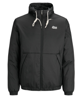 JACK & JONES Lightly Padded Jacket Men Black