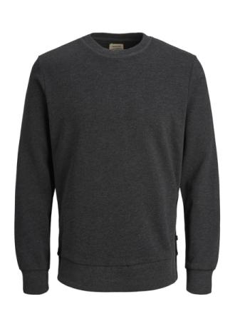 JACK & JONES Classic Sweatshirt Men Grey