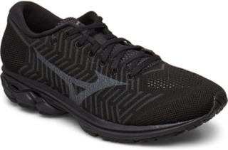 Wave Knit R2 Shoes Sport Shoes Running Shoes Svart MIZUNO