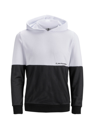 JACK & JONES Mesh Sweatshirt Men White