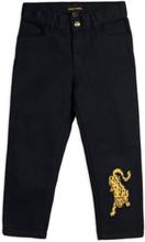 Jeans Leopard (Storlek: 92/98)