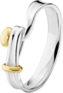 Georg Jensen TORUN ring - 3560660 Sølv / Guld 53