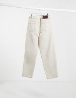 Reclaimed Vintage Inspired— The '94 klassiske jeans i ecru-Hvid