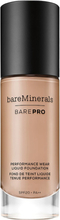 BAREPRO Performance Wear Liquid Foundation SPF 20, Flax 9.5 30 ml bareMinerals Foundation