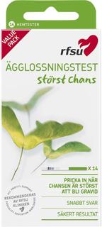 Kjøp Ägglossningstest, 14-pack RFSU Eggløsningstest Fri frakt