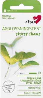 Kjøp Ägglossningstest, 7-pack RFSU Eggløsningstest Fri frakt
