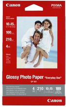 CANON Fotopapper Glossy 10x15 100 ark 200g GP-501A6 Replace: N/ACANON Fotopapper Glossy 10x15 100 ark 200g
