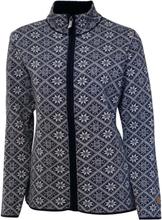 Ivanhoe Women's Elsie Full Zip Dam mellanlager tröjor Blå 36