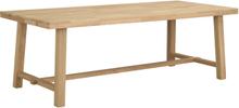 Brooklyn matbord Ek 220 x 95 cm