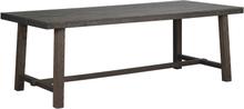 Brooklyn matbord Mörkbrun 220 x 95 cm