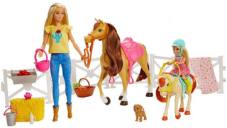 Barbie Horsefold - Barbie Hugs n Horses FXH15