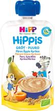 Hippis Gröt Päron, Äpple & Aprikos 6M 100 g