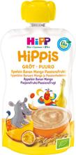 Hippis Gröt Apelsin, Banan, Mango & Passionsfrukt 6M 100 g