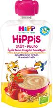 Hippis Gröt Äpple, Banan, Jordgubb & Granatäpple 6M 100 g