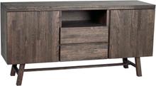 Brooklyn sideboard Mörkbrun 160 x 45 cm