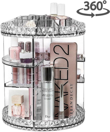 AVOCADOBEE Makeup Organizer Diamond Snurra