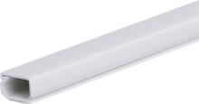 Plasfix 3403 Kabelkanal skruefesting, med lokk, 2 m 21 x 11,5 mm