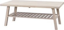 Brooklyn soffbord Vitpigmenterad 130 x 75 cm