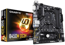 Moderkort Gigabyte GA-B450M DS3H mATX AM4