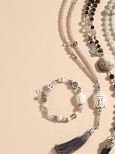 Kette Lova Juwelenkind beige