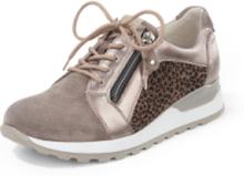 Sneakers Hiroko dragkedja från Waldläufer beige