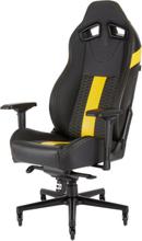 T2 Road Warrior Chair - Yellow Krzes?o gamingowe - Czarno-?ó?ty - Skóra PU - Do 130 kg