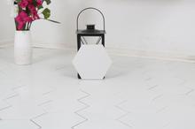 Nordic Kakel Klinker Hexagon Borno 20X23-Vit
