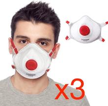 Antgamer 3x CE FFP3 Munskydd Skydd Mun / Mask Skyddsmask hälsa