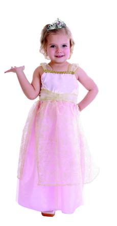 Costume - Princess Dress incl. Tiara (5-7 years)