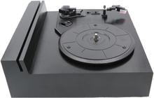 Portabel Vinylspelare Med Bluetooth Svart Black