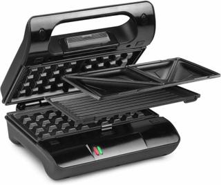 Princess Multifunktionell grill/smörgåsgrill Compact Pro 800 W 117002