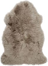 Gently långhårigt fårskinn - 95-100x60 cm - Beige