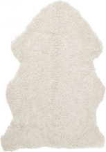 Curly fårskinn - 95x55 cm - Beige