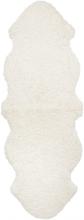 Curly fårskinn - 180x60 cm - Vit