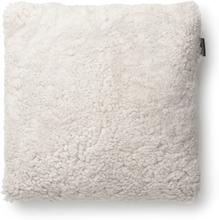 Curly kuddfodral fårskinn - Beige