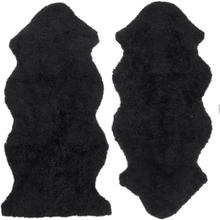 Curly fårskinn - 135x55 cm - Svart