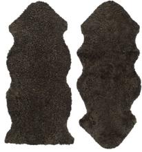 Curly fårskinn - 135x55 cm - Brun
