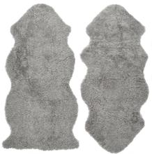 Curly fårskinn - 135x55 cm - Grå