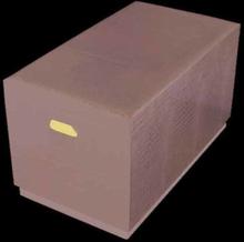 Send - Set med kistor 2 st (brun kroko)