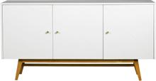 Rosswood sideboard Vit/ek 169 x 42 cm