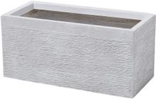 Kukkaruukku valkoinen 50x23x24 cm MYRA