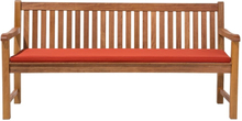 Pihapenkki terrakotalla pehmusteella 180 cm JAVA